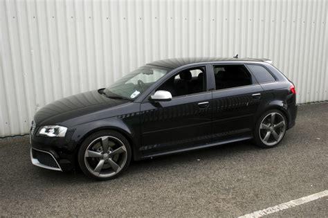 Audi A3 Sportback Schwarz by Audi A3 Rs3 Sportback Black Leather With Silver Stitching