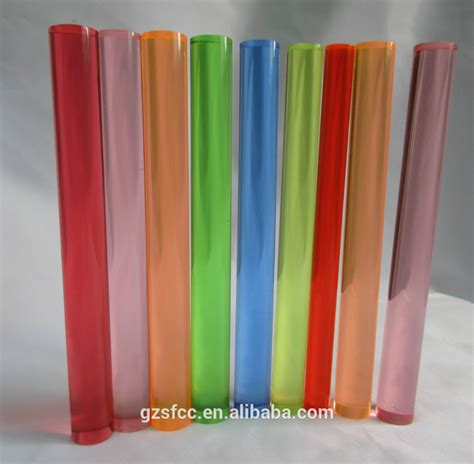 colored acrylic colored acrylic rod buy colored cast acrylic rods