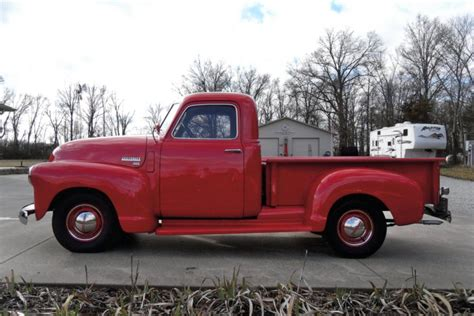 short bed truck cer 1950 chevrolet short bed pickup 125249