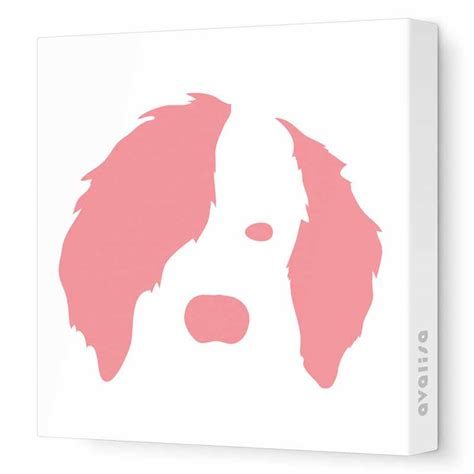 dog wall art dog face canvas wall art by avalisa rosenberryrooms com