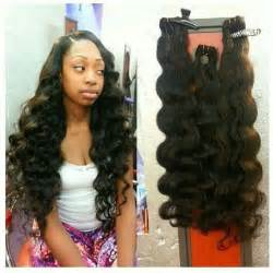 weave no leave out hairstyle brazillian body wave hair full weave w minimal leave out sew in
