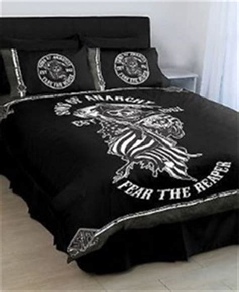 sons of anarchy bed set sons of anarchy double quilt cover auction 0001 2146120