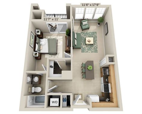 a 1 bedroom apartment floor plans and pricing for signal hill woodbridge