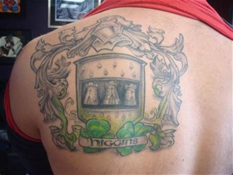 tattoo higgins family guy higgins family crest tattoos