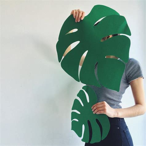 How To Make Paper Palm Leaves - daydreaming of being somewhere tropical and with