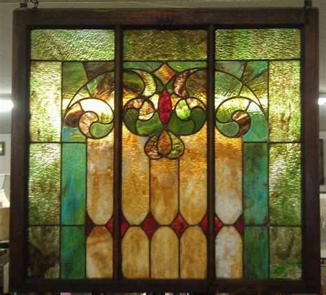 vintage stained glass ls vintage stained glass window