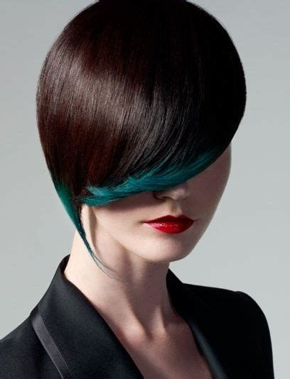 hairstyles accenting the eyes love the subtle accent of green here hair styles color
