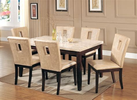 espresso dining room table white espresso marble top dining room table and chair