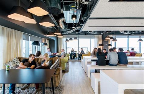 latest google office design located  dublin homemydesign