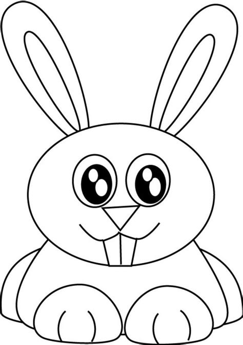 little bunny coloring pages bunny rabbit cartoon coloring home