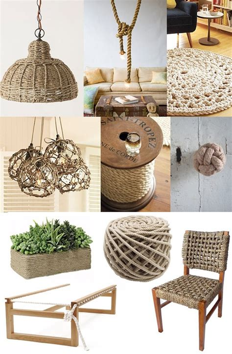 Nautical Rope Decor by 30 Rope Crafts And Decorating Ideas For A Nautical Theme