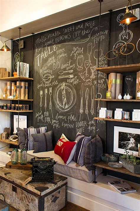 industry home chalkboard wall shop display such a