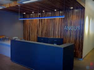 Bamboo Reception Desk Angus Systems Reception Desk Wills 235 Ns Architectural Millwork On