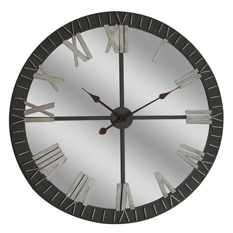 Ceiling Clocks by Crestview Collection Cvtck1108 Reflecting Time Wall Clock