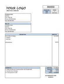 services invoice template and clean service invoice template