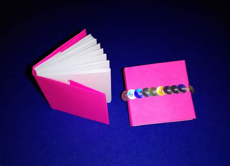 How To Make A Small Book Out Of Paper - origami modular mini books mini diary diy s
