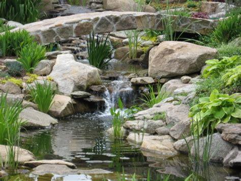 waterfall fountains for backyard water garden backyard waterfall and bridge by matthew