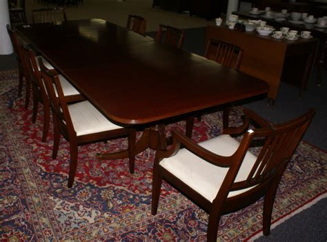 Dining Room Sets Jordans by Mahogany Dining Room Table And 8 Chairs