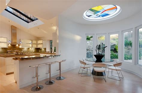 Creative Skylight Ideas 27 Dining Rooms With Skylights That The Show
