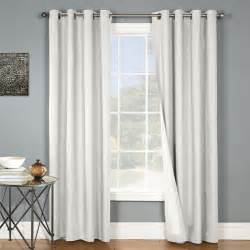 insulating window curtains thermal grommet top curtains grommet top insulated panels