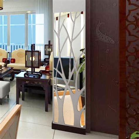 stock tree pattern mirror wall decor decal acrylic