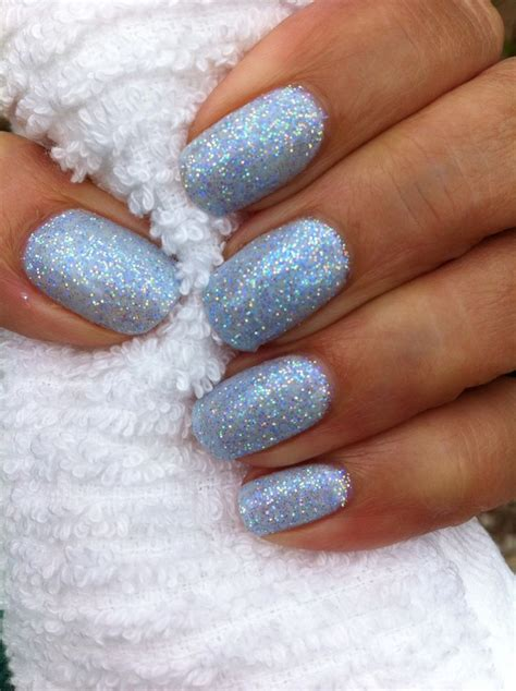 With Nails by Light Blue And Silver Nail Designs Www Pixshark