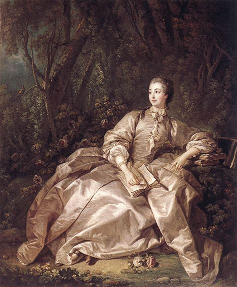 a portrait of the artist as a books madame de pompadour by boucher franois