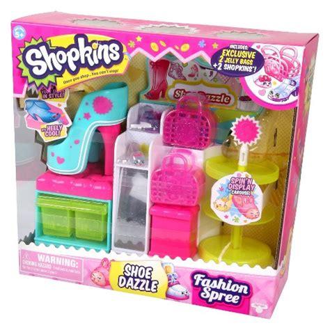Shopkins Fashion Spree shopkins fashion spree playset shoe dazzle target