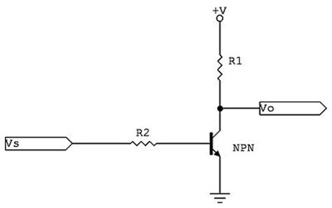 transistor npn inverter npn why won t a switching transistor work in this circuit electrical engineering stack exchange