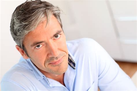 40 year old men with gray hair pics guy style guide concealing grey hair colouring guide