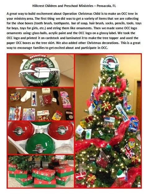 a great way to build excitement about operation christmas
