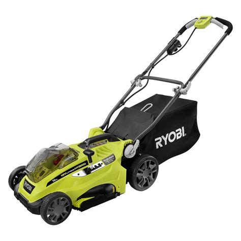 battery powered lawn mowers home depot battery free