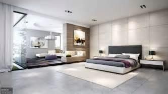 Elegant modern bedroom design for best new home interior decoration