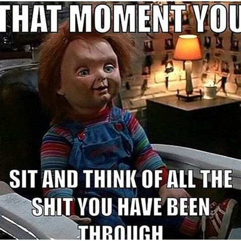 chucky movie joke dankhorrormemes instagram photos and videos
