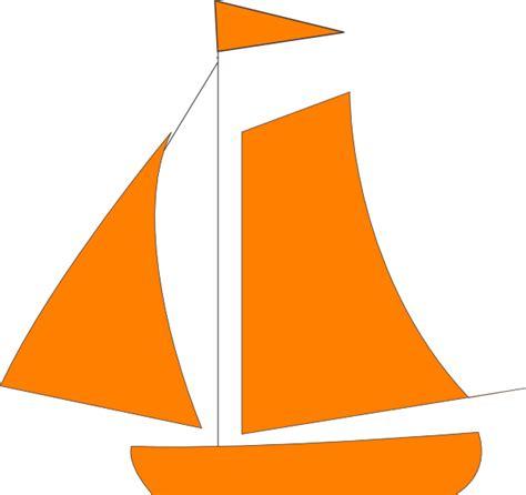 green boat clipart orange sail boat clip art at clker vector clip art