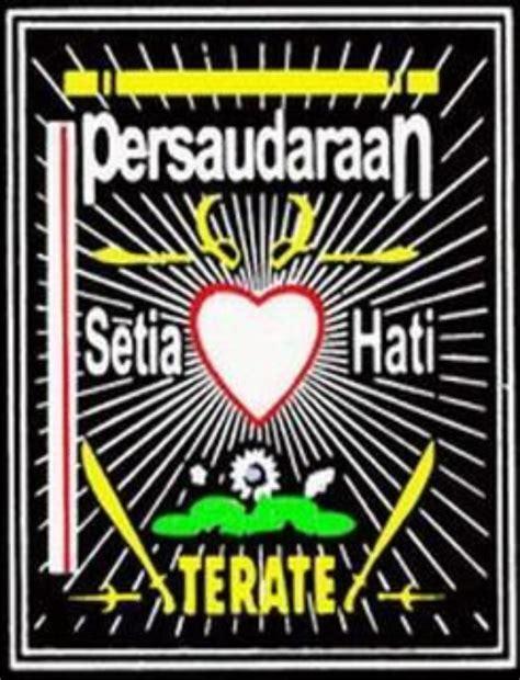 persaudaraan setia hati terate 1922 arti makna lambang psht