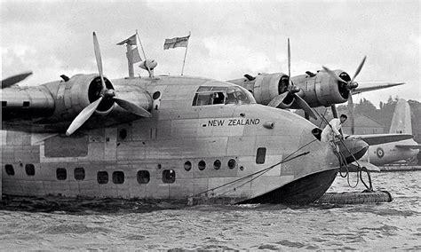 flying boat nz indvstriousotter the short sunderland flying boat new