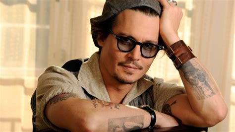 johnny tattoo hd full hd wallpaper johnny depp actor glasses tattoo