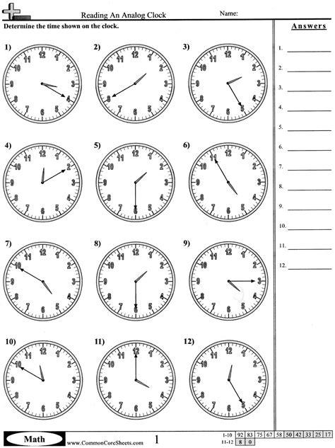 printable clock math worksheets maths worksheets grade 4 time telling time worksheets