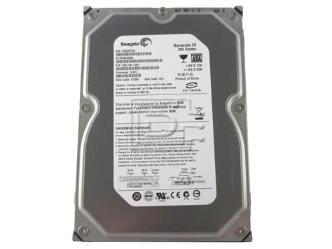 Harddisk Seagate 250gb seagate st3250620ns 250gb sata disk drive