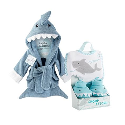 baby shark gifts baby aspen shark gift bundle with shark chomp stomp and