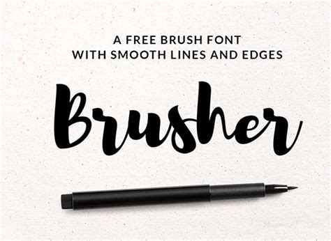 design font brush 17 best new free fonts for 2017 graphic design projects
