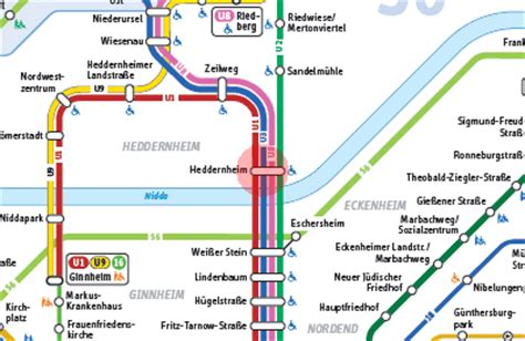 heddernheim frankfurt heddernheim station map frankfurt u bahn