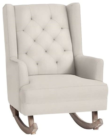 wingback rocking chair australia tufted wingback rocker contemporary rocking chairs