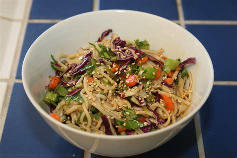 oriental cold noodle salad recipe dishmaps