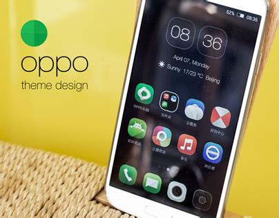 themes oppo oppo phone theme design on behance