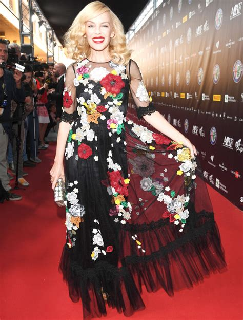 Minogues Looks Different by Minogue Looks Different In Show Stopping Floral
