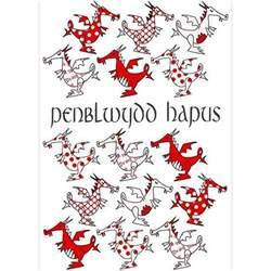 card happy birthday penblwydd hapus dragons the