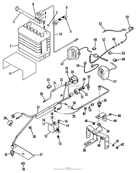 simplicity parts diagram simplicity 1690119 broadmoor 5010 ltd tractor parts