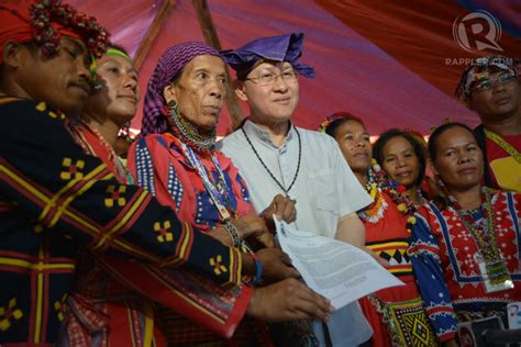 Baru 10702 New Manila Navy cardinal tagle to leave the lumad in peace